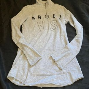 victoria secret tunic sweatshirt